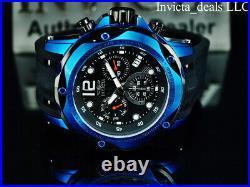 Invicta Men's 52mm SPEEDWAY TURBO SWISS Chrono Sapphire Blue/Black Tone Watch