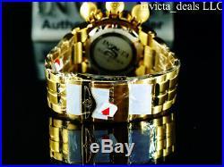 Invicta Men's 52mm Subaqua SEA DRAGON Swiss Chronograph Blue & Gold Tone Watch