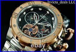 Invicta Men's 52mm Subaqua SEA DRAGON Swiss Ronda Chronograph Stainless St Watch
