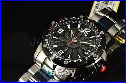 Invicta Men's 52mm Turbine Rotors Automatic Black Dial SS Two-Tone Band Watch