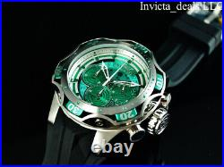 Invicta Men's 52mm Venom Gen III Chrono GREEN DIAL Sapphire Green/Silver Watch