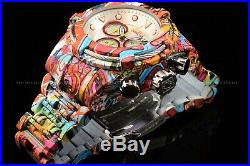 Invicta Men's 53mm Bolt HydroPlated Aqua Plated GRAFFITI Swiss Multicolor Watch