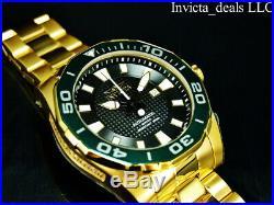 Invicta Men's 53mm GRAND DIVER Automatic LIMITED ED Black Dial Gold Tone Watch