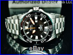 Invicta Men's 53mm GRAND DIVER Automatic LIMITED EDITION Black Dial Silver Watch