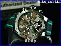 Invicta Men's 53mm S1 Rally TURBO Chronograph GUNMETAL DIAL Black/Gunmetal Watch