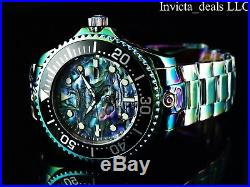Invicta Men's 54mm Grand Diver Automatic Abalone Dial 300m Iridescent SS Watch