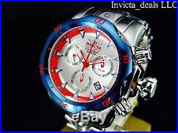 Invicta Men's 54mm Venom Swiss Z60 Chronograph Silver Dial Limited Edition Watch