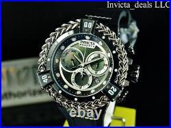 Invicta Men's 56mm Reserve BOLT HERCULES Swiss Chrono BLACK MOP DIAL SS Watch