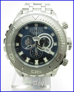 Invicta Men's 6896 Subaqua Reserve Chronograph Black Dial Stainless Steel Watch