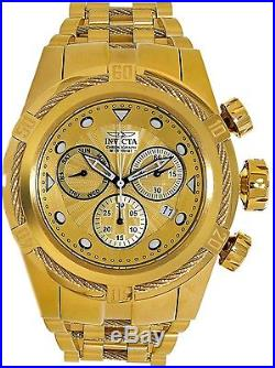Invicta Men's Bolt 23911 Gold Stainless-Steel Swiss Chronograph Dress Watch