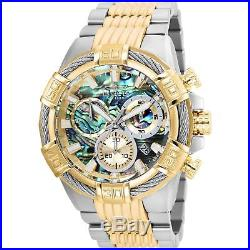 Invicta Men's Bolt 51mm Two Tone Steel Bracelet Swiss Quartz Watch 26540