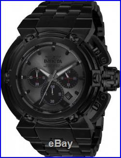 Invicta Men's Coalition Forces Chrono 300m Black Stainless Steel Watch 26576