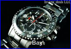 Invicta Men's FLIGHT Specialty Chronograph Gunmetal Tone Stainless Steel Watch