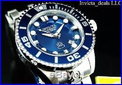 Invicta Men's Grand Diver Generation II Automatic 3D Blue Dial SS Bracelet Watch