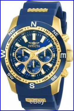 Invicta Men's I-Force Japanese Quartz Chronograph Stainless Steel Watch 22682