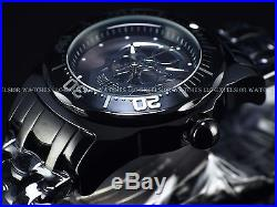 Invicta Men's Lupah Diver Skull Limited Edition Automatic Black IP SS Watch