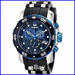Invicta Men's Pro Diver 17878 Stainless Steel, Silicone Chronograph Watch
