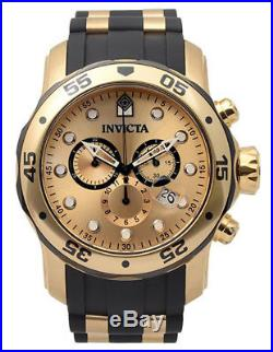 Invicta Men's Pro Diver 17885 Stainless Steel, Polyurethane Chronograph Watch