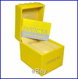 Invicta Men's Pro Diver 19837 Quartz Chronograph 18K Gold Ion-Plated SS Watch
