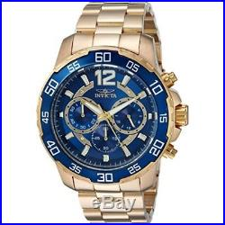 Invicta Men's Pro Diver 22714 Gold Stainless Steel Chronograph Watch