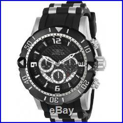 Invicta Men's Pro Diver 23696 Polyurethane, Stainless Steel Chronograph Watch