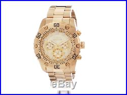 Invicta Men's Pro Diver 24835 Gold Stainless Steel Chronograph Watch