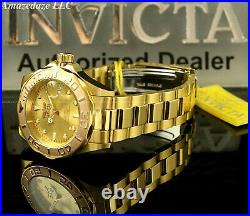 Invicta Men's Pro Diver 24J Automatic NH35A Stainless Steel GOLDEN DIAL Watch