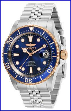 Invicta Men's Pro Diver Automatic 200m Blue Dial Stainless Steel Watch 32503