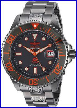 Invicta Men's Pro Diver Automatic 300m Gray-Tone Stainless Steel Watch 22216