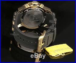 Invicta Men's Pro Diver Collection Chronograph Blue Dial Black Polyurethan Watch