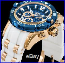 Invicta Men's Pro Diver Gen III Chronograph Blue Dial Rose Gold Plated PU Watch