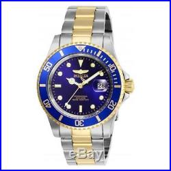Invicta Men's Pro Diver Quartz Stainless Steel Two Tone Watch 26972