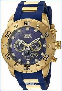 Invicta Men's'Pro Diver' Quartz Stainless Steel and Polyurethane Watch 20280