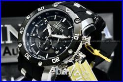 Invicta Men's Pro Diver Scuba Tachymeter48MM Chrono Gunmetal Dial S. S Poly Watch