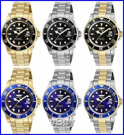 Invicta Men's Pro Diver Stainless Steel 40MM Watch- Choose Color (26970 26975)