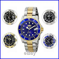 Invicta Men's Pro Diver Watch with Coin Edge Bezel