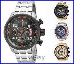 Invicta Men's Quartz Aviator Chronograph Bracelet Watch
