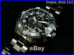 Invicta Men's S1 RALLY AIR WOLF Chronograph COMBAT TRIPLE BLACK ALL BLACK Watch