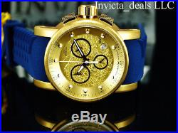 Invicta Men's S1 Rally Yakuza Dragon Chronograph 18K Gold IP Gold DL Strap Watch