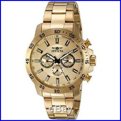 Invicta Men's Specialty 21505 Gold Stainless Steel Chronograph Watch