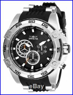 Invicta Men's Speedway 28227 Black Silicone, Stainless Steel Chronograph Watch