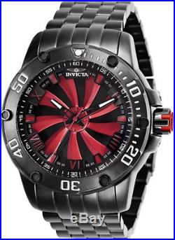 Invicta Men's Speedway Automatic 100m Gunmetal Stainless Steel Watch 25849