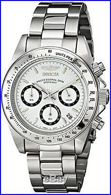 Invicta Men's Speedway Chronograph 200m Quartz Stainless Steel Watch 9211