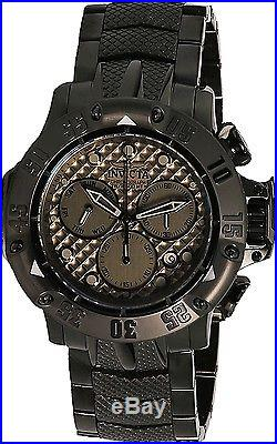 Invicta Men's Subaqua 23808 All Over Black Stainless-Steel Swiss Chronograph Fas