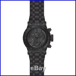 Invicta Men's Subaqua Black Steel Bracelet & Case Swiss Quartz Watch 23924