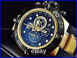 Invicta Men's Subaqua Noma IV Swiss Made Chrono 18K Gold IP Poly Strap Watch