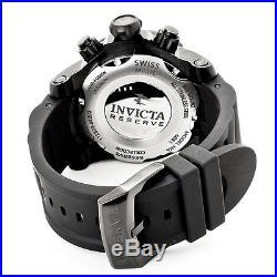 Invicta Men's Venom Swiss Quartz Chrono 1000m Black Stainless Steel Watch 6051