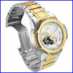 Invicta Men's Watch Bolt Automatic Gold and Silver Dial Two Tone Bracelet 31175