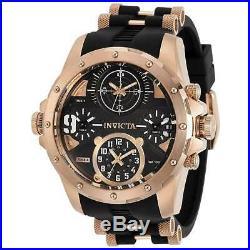 Invicta Men's Watch Coalition Forces Quartz Black and Rose Gold Dial 31142