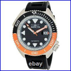 Invicta Men's Watch Pro Diver Automatic Black and Silver Dial Strap 30423